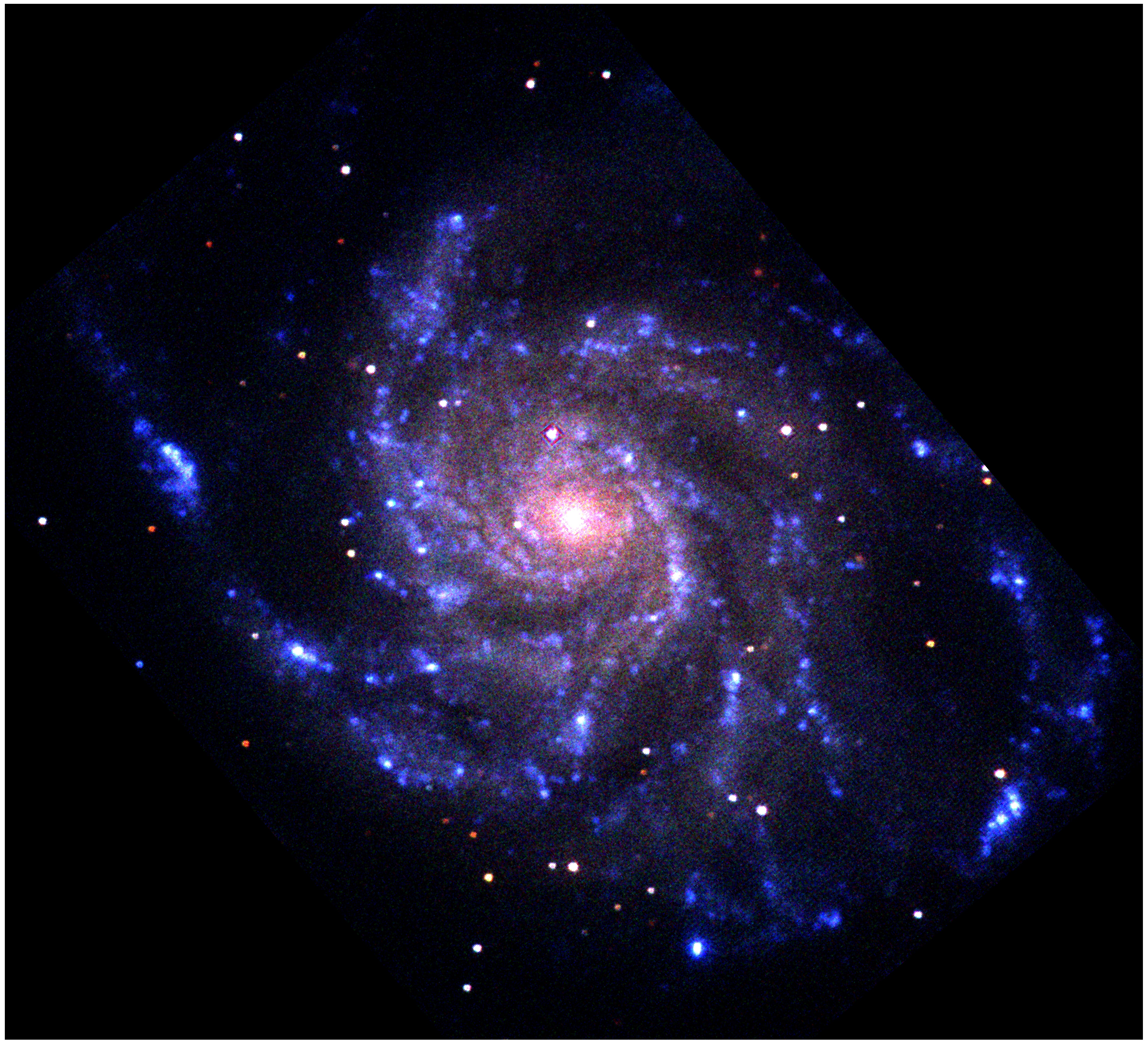 Swift Results Press Release Images Swift Sees Pinwheel Galaxy Satellite Fully Operational