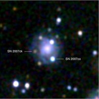 NASA's Swift Sees Double Supernova in Galaxy