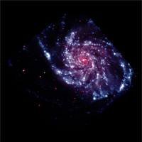 Swift Sees Pinwheel Galaxy, Satellite Fully Operational
