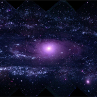 Swift Makes Best-ever Ultraviolet Portrait of Andromeda Galaxy