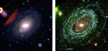 UVOT images of Supernova 2005ke.
