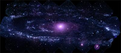 UVOT Mosaic of M31